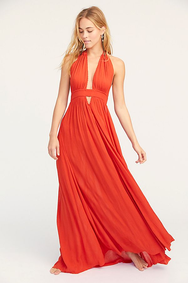 771031cf350 Slide View 1  Look Into the Sun Maxi Dress