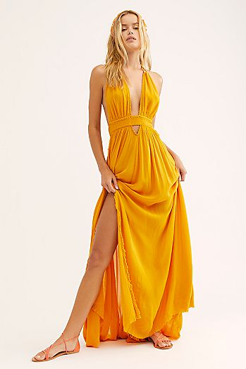 7f9db9b742 Look Into the Sun Maxi Dress