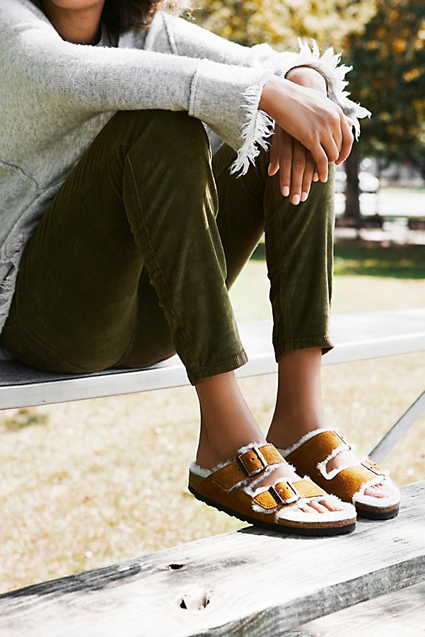 Slide View 1: Arizona Shearling Birkenstock Sandal