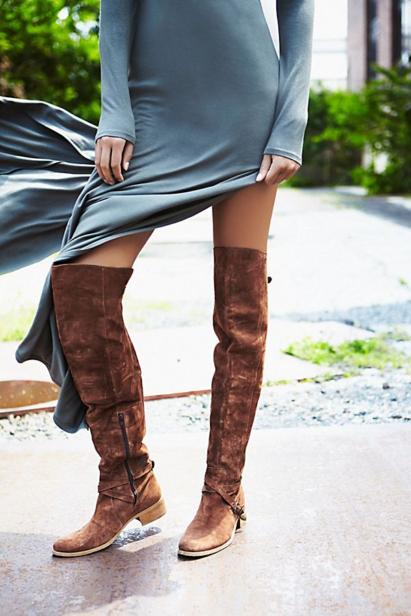 8709a27d253 Amorosa Suede Over The Knee Boot