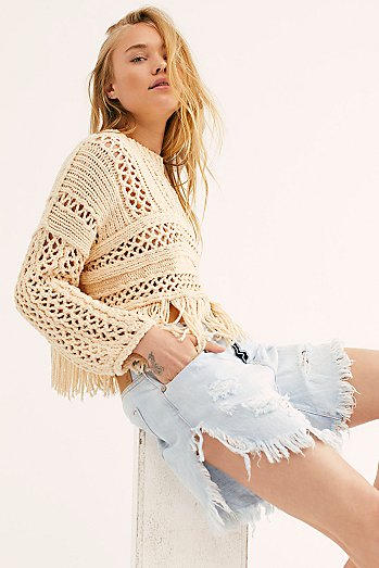 OneTeaspoon Frankies Cutoff Shorts