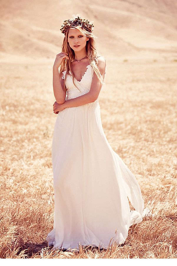 Free People Wedding Dress.Vida Gown