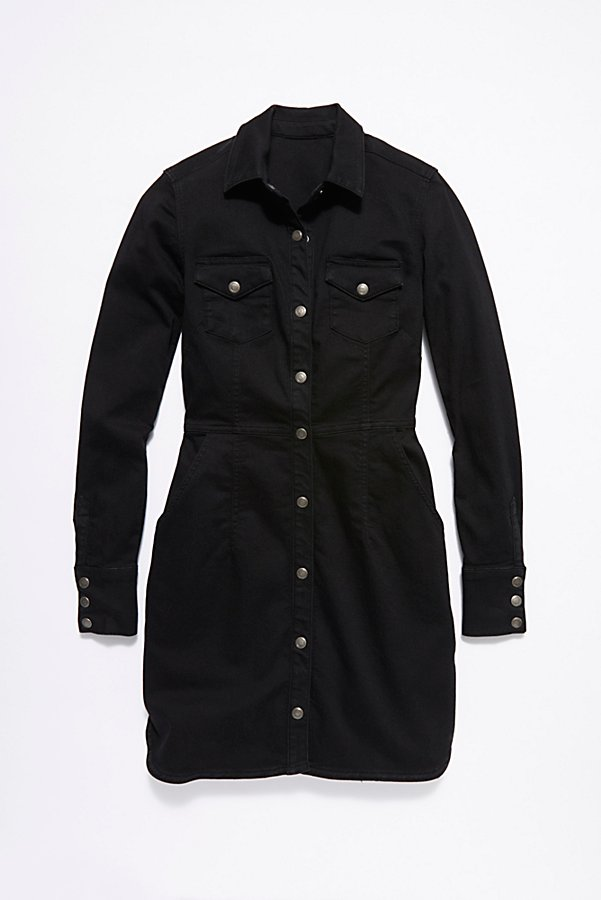 Slide View 6: Dynomite Denim Mini Dress