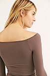 Thumbnail View 5: Off the Shoulder Solid Top