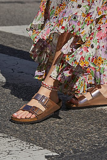 Arizona Metallic Birkenstock Sandal