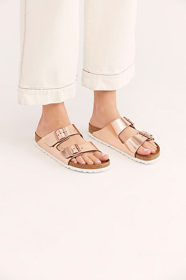 Slide View 2: Arizona Metallic Birkenstock Sandal