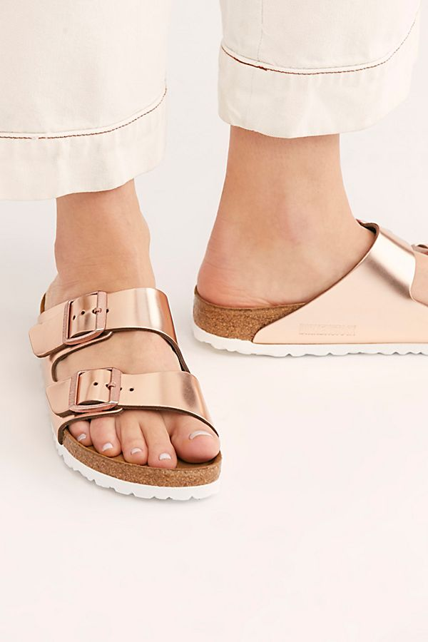 Slide View 1: Arizona Metallic Birkenstock Sandal