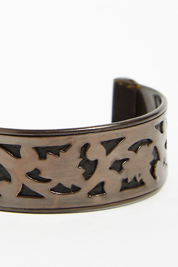 Slide View 3: Engraved Bun Cuff