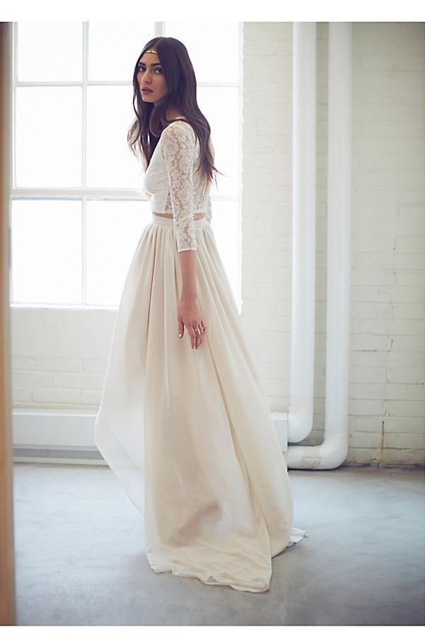 Free People Wedding Dress.Callie Set