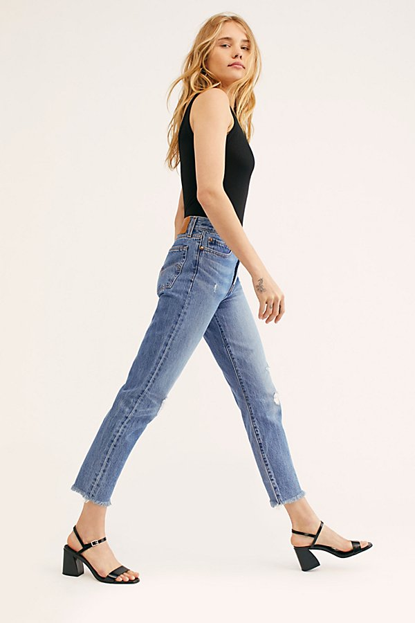 Slide View 1: Levi's Wedgie Icon High-Rise Jeans