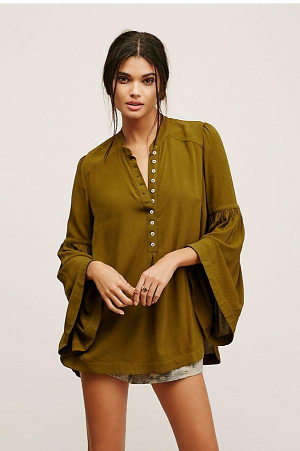 b965a284cde Easy Girl Buttondown Tunic | Free People