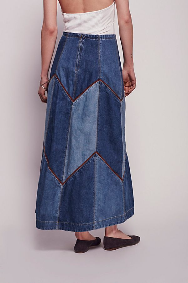 ccd757aace Bliss Made Denim Skirt | Free People UK