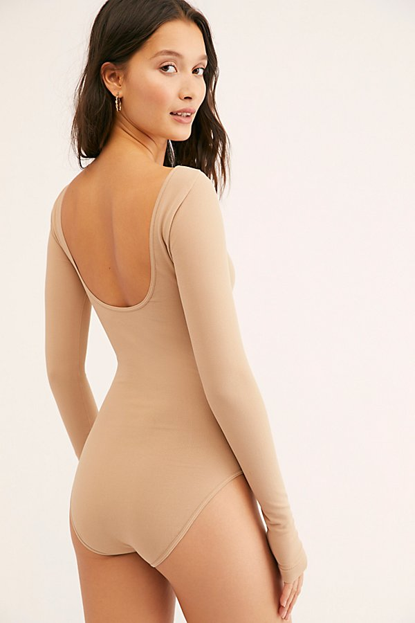 Slide View 4: Low Back Bodysuit