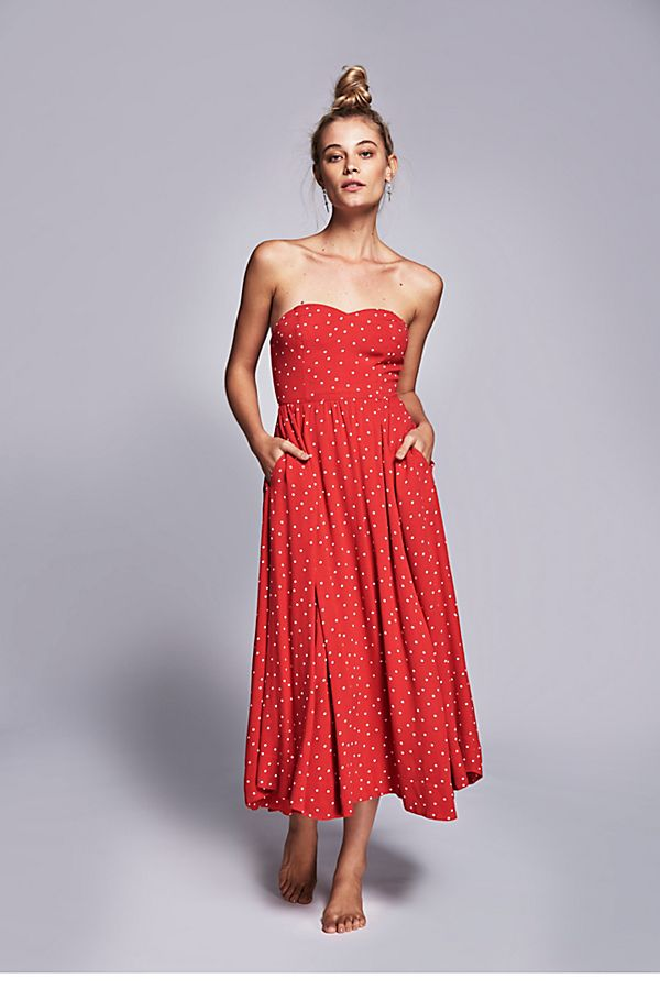95f0acdacb Bella Donna Polka Dot Midi Dress