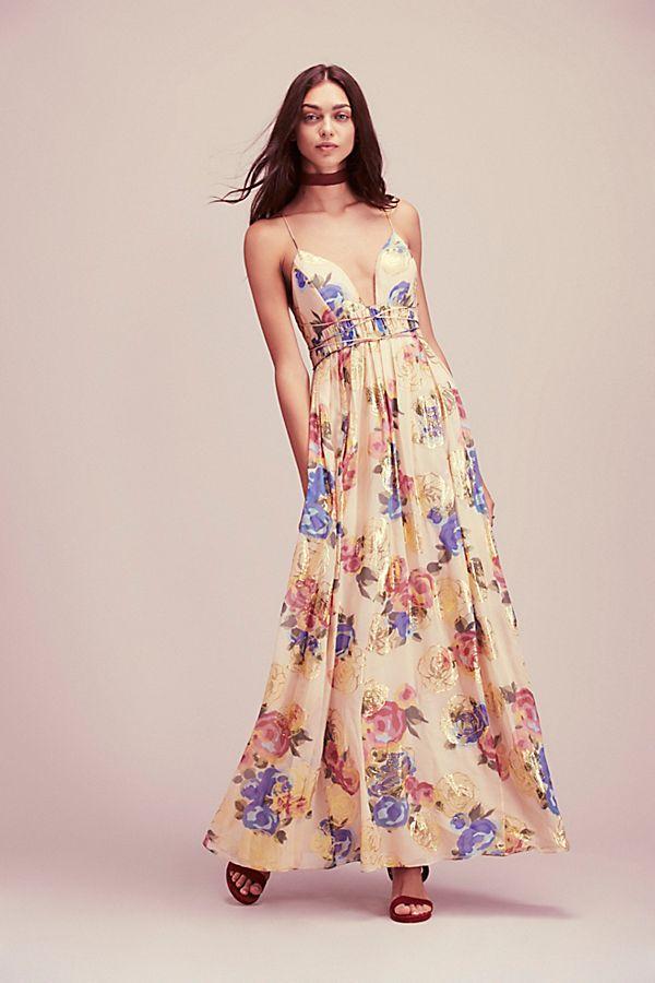 70737055e721d Shadows Printed Gown