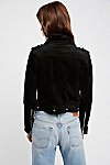 Thumbnail View 3: Suede Moto Jacket
