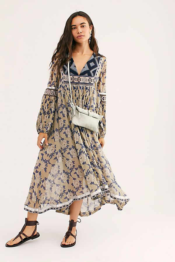 acf504660f4c Slide View 1: Bold Blooms Embroidered Dress