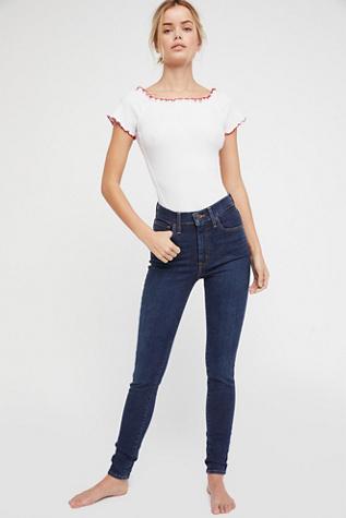 7f70aff49 Levi's Mile High Super Skinny Jeans