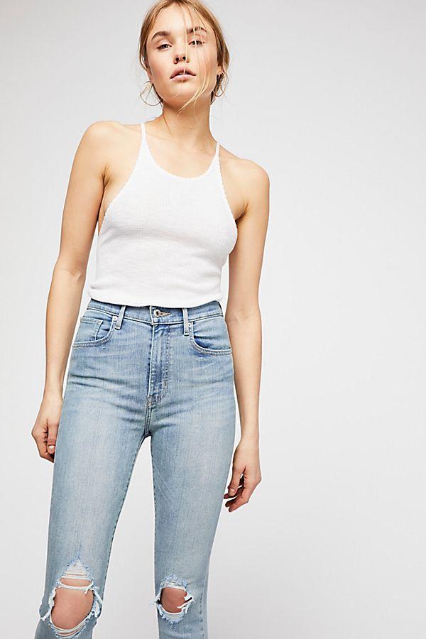 788fc610 Levi's Mile High Super Skinny Jeans | Free People