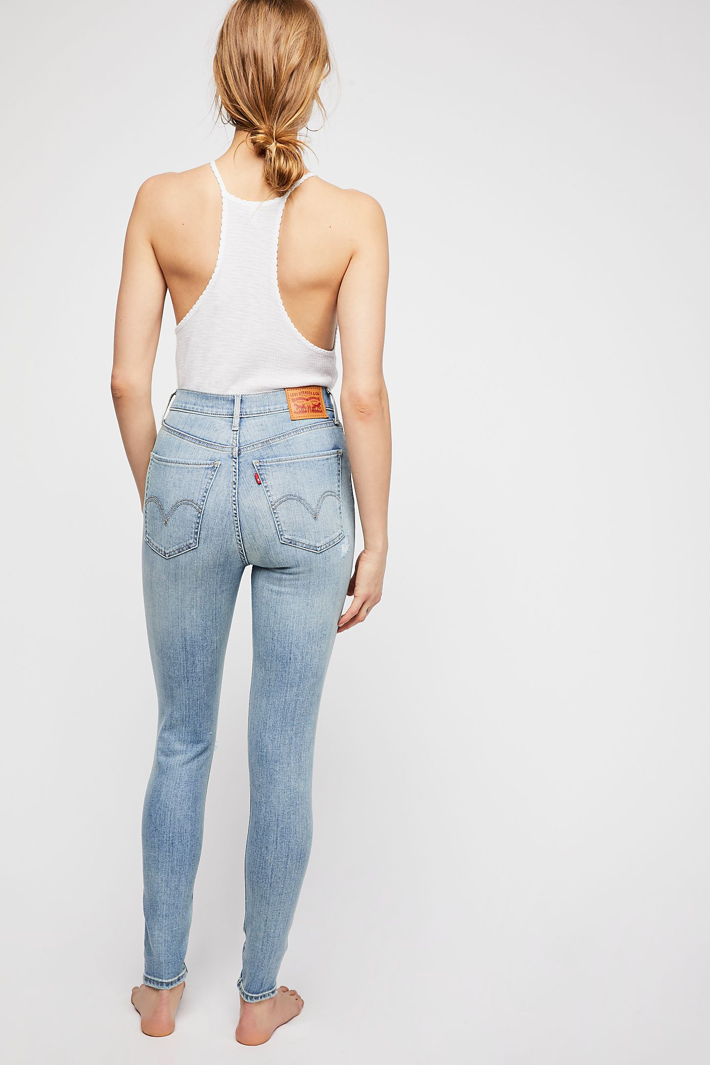 a296de53b77 Slide View 3: Levi's Mile High Super Skinny Jeans