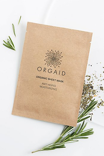 ORGAID Antiaging & Moisturizing Organic Mask