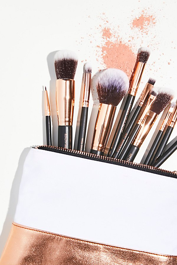 Slide View 1: M.O.T.D Cosmetics Lux Vegan Complete Brush Set