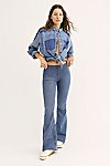 Thumbnail View 1: Penny Pull-On Flare Jeans