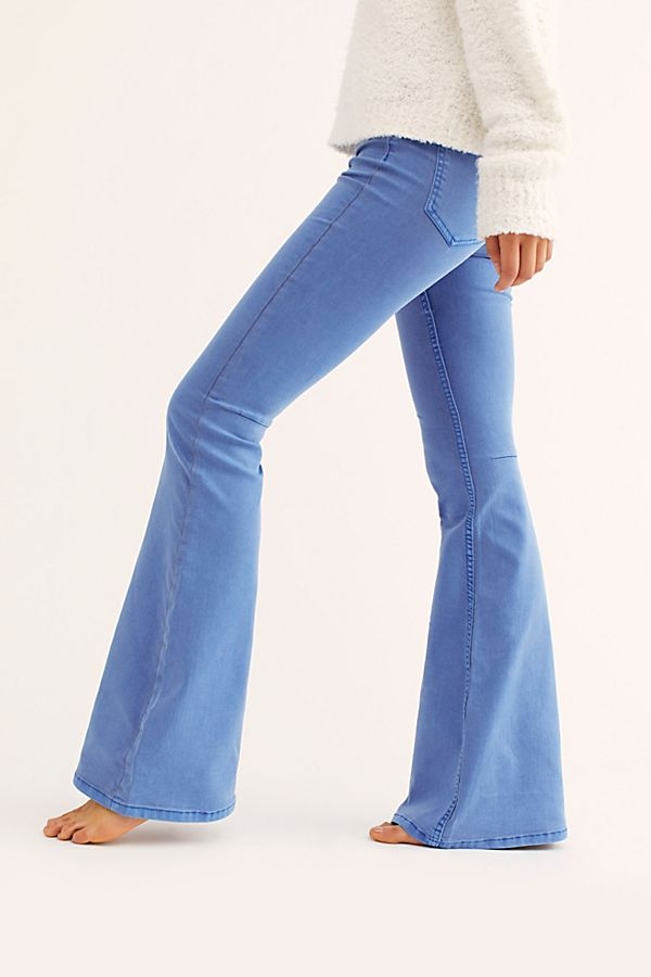 order online premium selection premium selection Penny Pull-On Flare Jeans