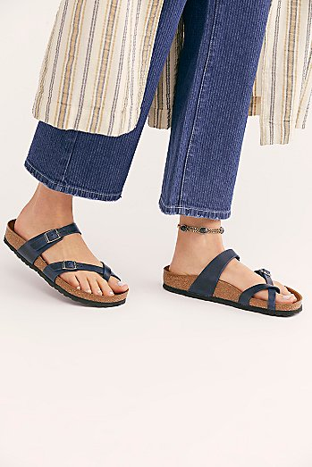 Mayari Leather Birkenstock