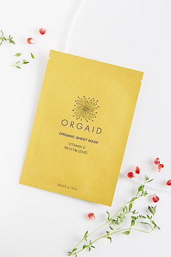 ORGAID Vitamin C Revitalizing Organic Mask