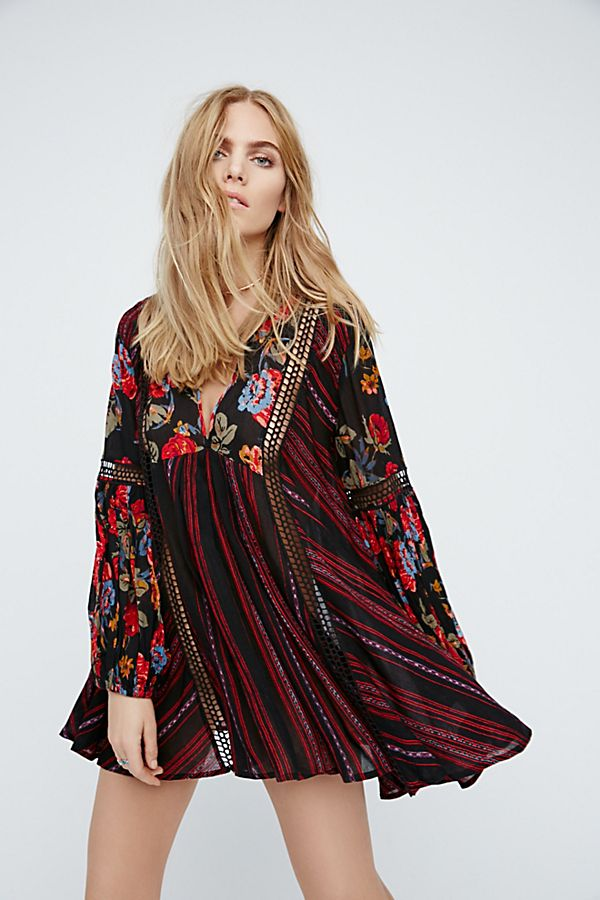 6da1a7866a1 Just The Two Of Us Mixed Printed Tunic | Free People