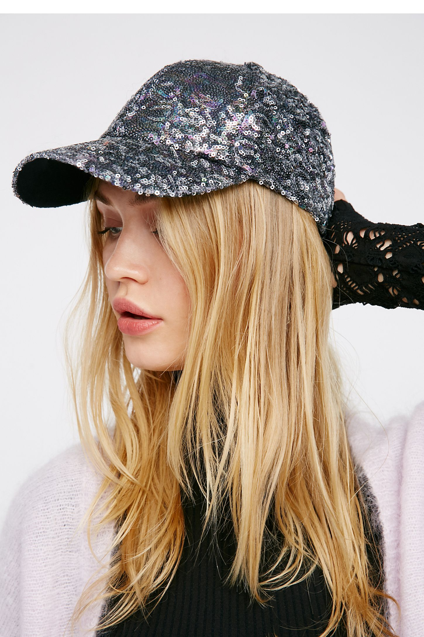 00fe3eb24 Shine On Sequin Baseball Hat