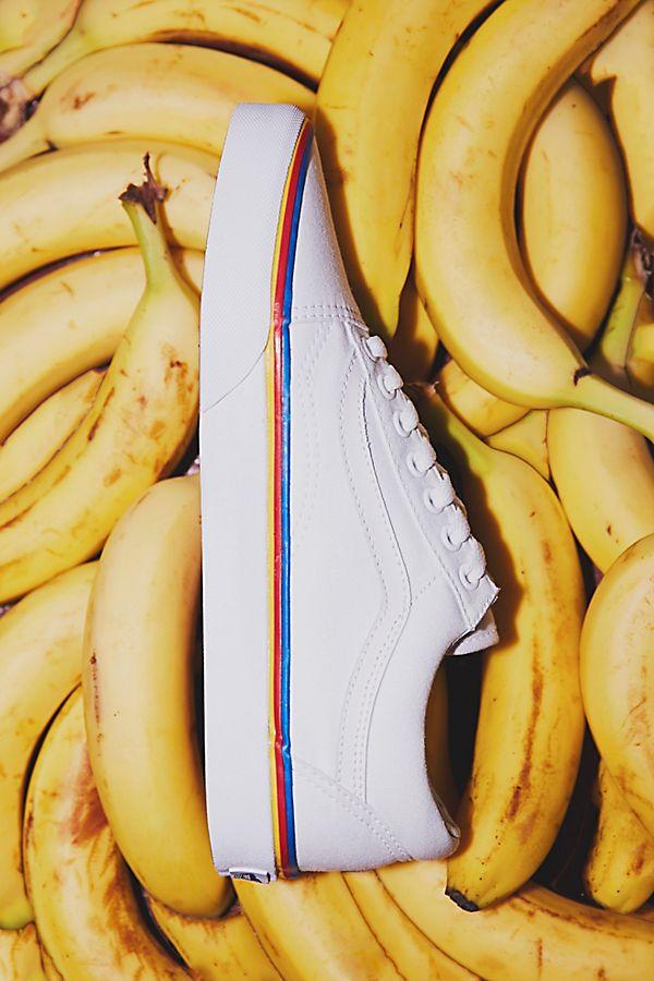 fb18b5c93fee58 Rainbow Old Skool Sneaker
