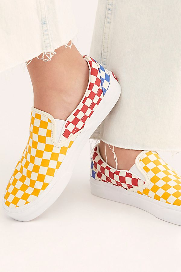 purchase cheap 6a65a 60fe8 Slide View 3  Classic Checkered Slip-On
