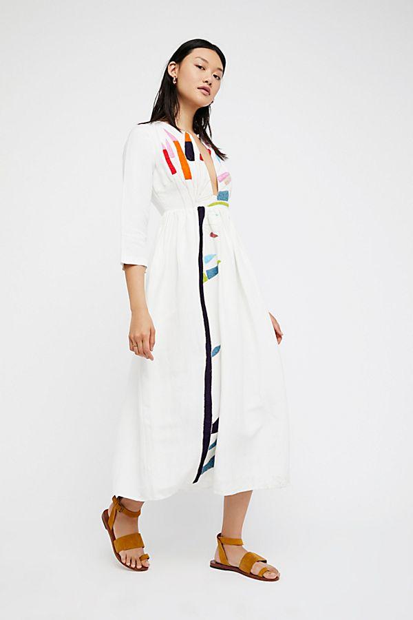3c53739ce3 Embroidered Midi Dress   Free People