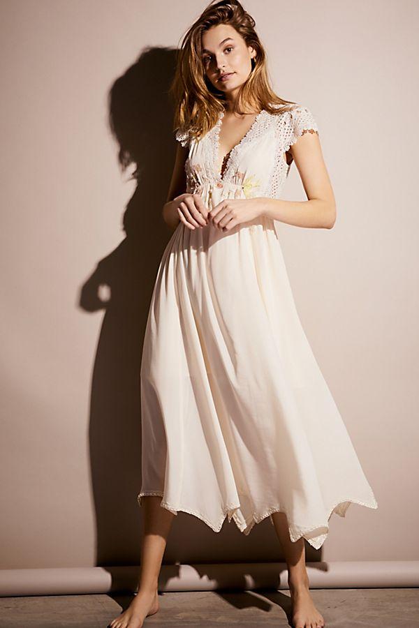 b00947bdebf26 Gemma's Limited Edition White Dress   Free People UK