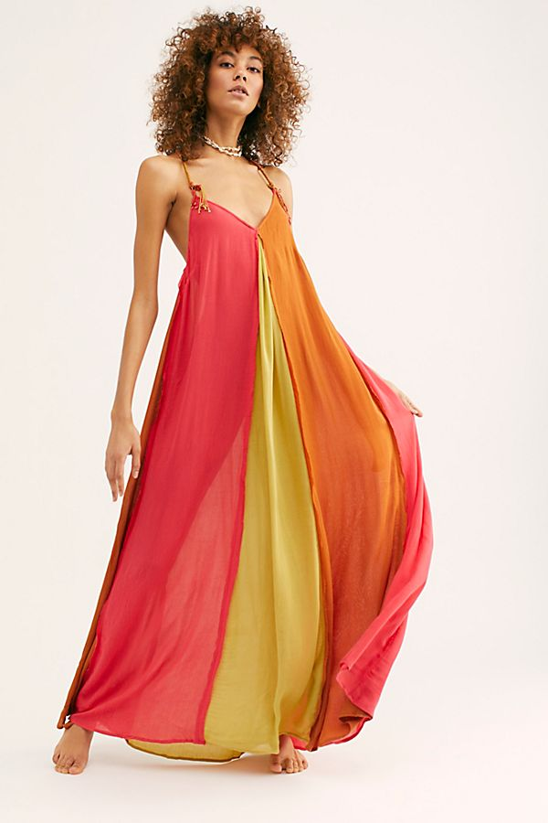 Slide View 1: Mixin' It Up Maxi Dress