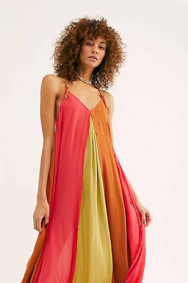 Slide View 3: Mixin' It Up Maxi Dress