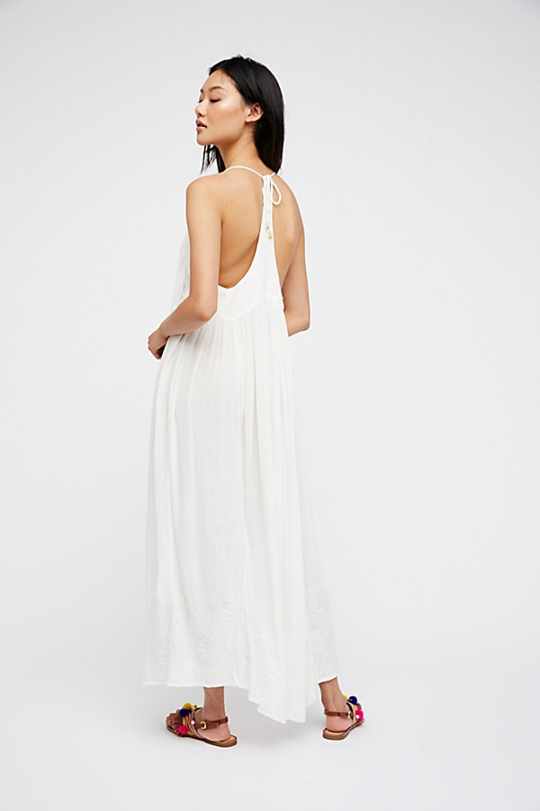 Slide View 2: Embroidered Elaine Maxi Slip