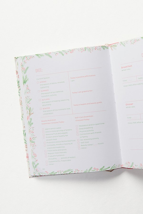 Slide View 5: Eat Pretty, Live Well Journal