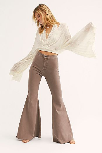 454ea15ba383d Womens Flare Jeans & Bell Bottom Jeans | Free People