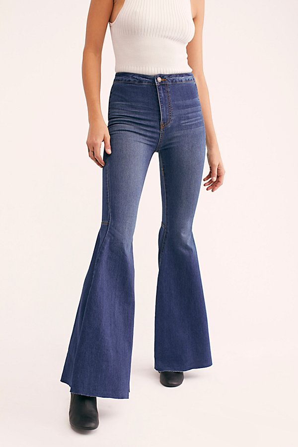 Slide View 3: Just Float On Flare Jeans