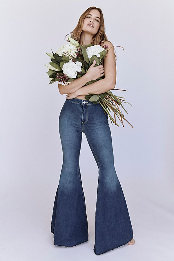 Slide View 5: Just Float On Flare Jeans