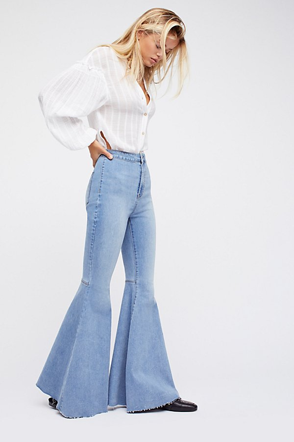 Slide View 2: Just Float On Flare Jeans
