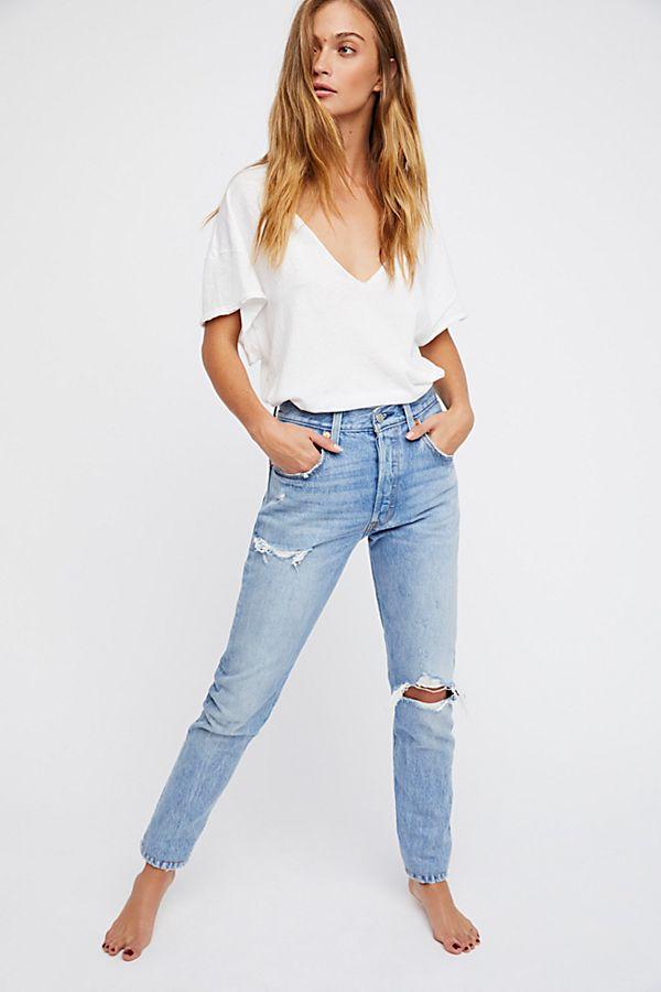 bfb7cdaeae0 Levi's 501 Skinny Jeans