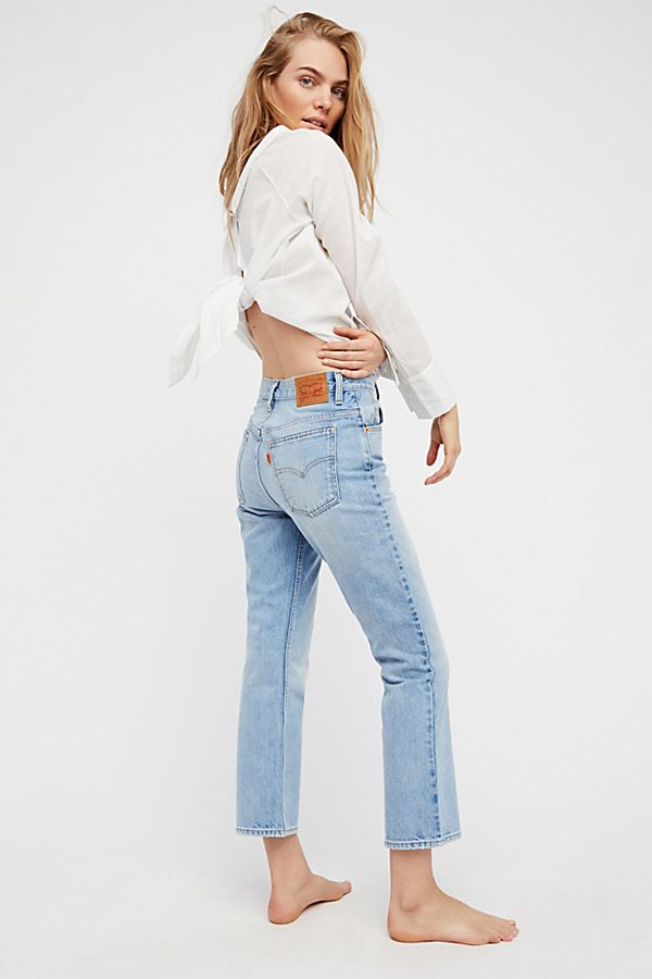 af98b20048e Levi's 517 Cropped Boot Cut Jeans | Free People