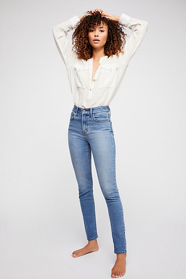 3b1c9bf3 Levi's 721 High-Rise Skinny Jeans | Free People