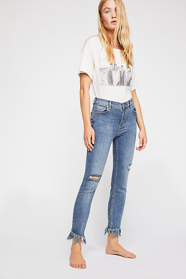 Slide View 1: Great Heights Frayed Skinny Jeans