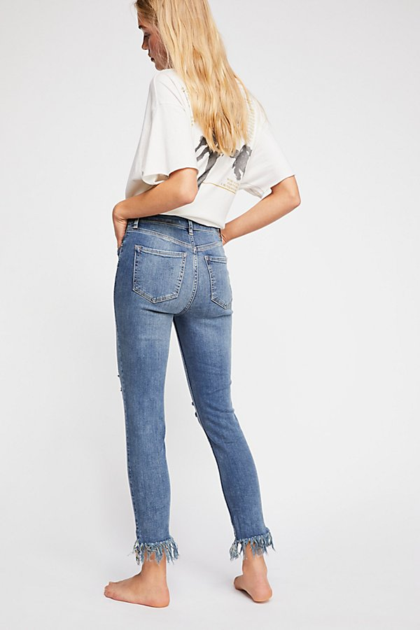 Slide View 2: Great Heights Frayed Skinny Jeans