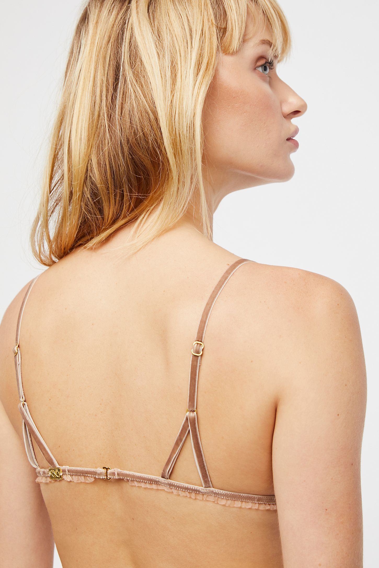 5767a3a1c98e0 Slide View 3: Golden Garden Bralette